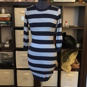 French Connection Striped Sweater Dress SIZE2